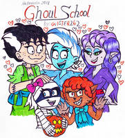Halloween 2018: Ghoul School by gilster262