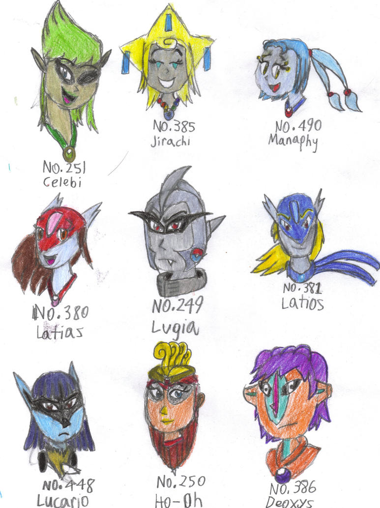 Human pokemon 4 by gilster262 on DeviantArt