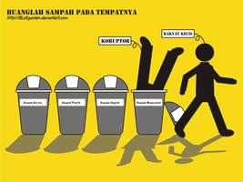 Buanglah Sampah Pada Tempatnya by BLUEgarden