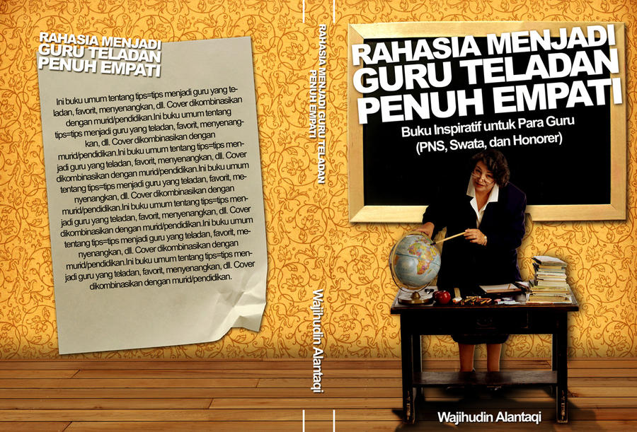 RAHASIA GURU TELADAN cover by BLUEgarden