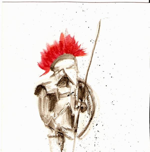 Spartan 1 by hideXclamation