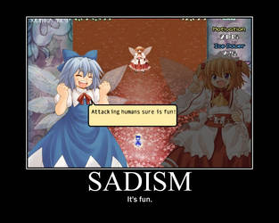 Sadism Motivational Poster by krawky398