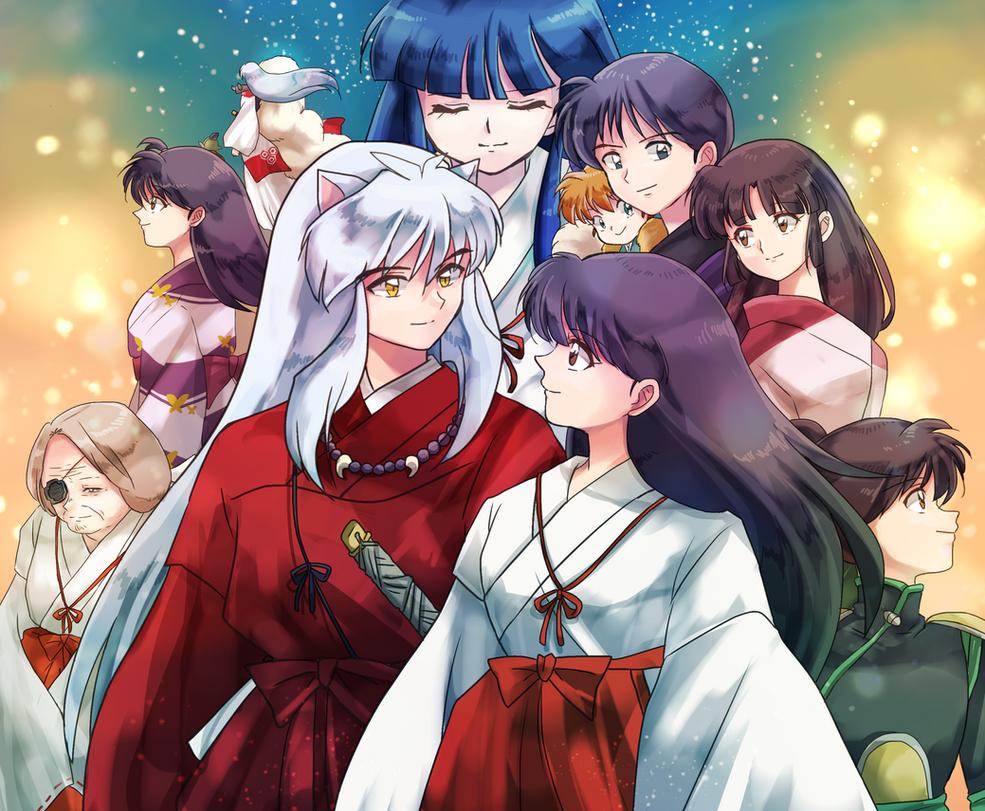 Inuyasha  Friends by InoYamanakaRayya