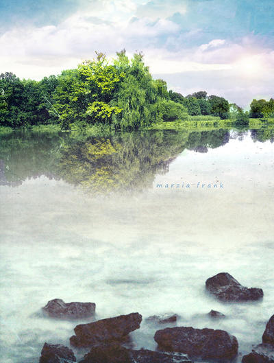 Sunny Lake by krylty