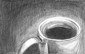 A simple coffee cup - Drawing#1