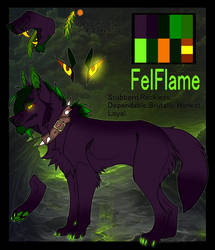 FelFlame The Demon Wolf