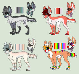 Themed Pupper Adopts OPEN