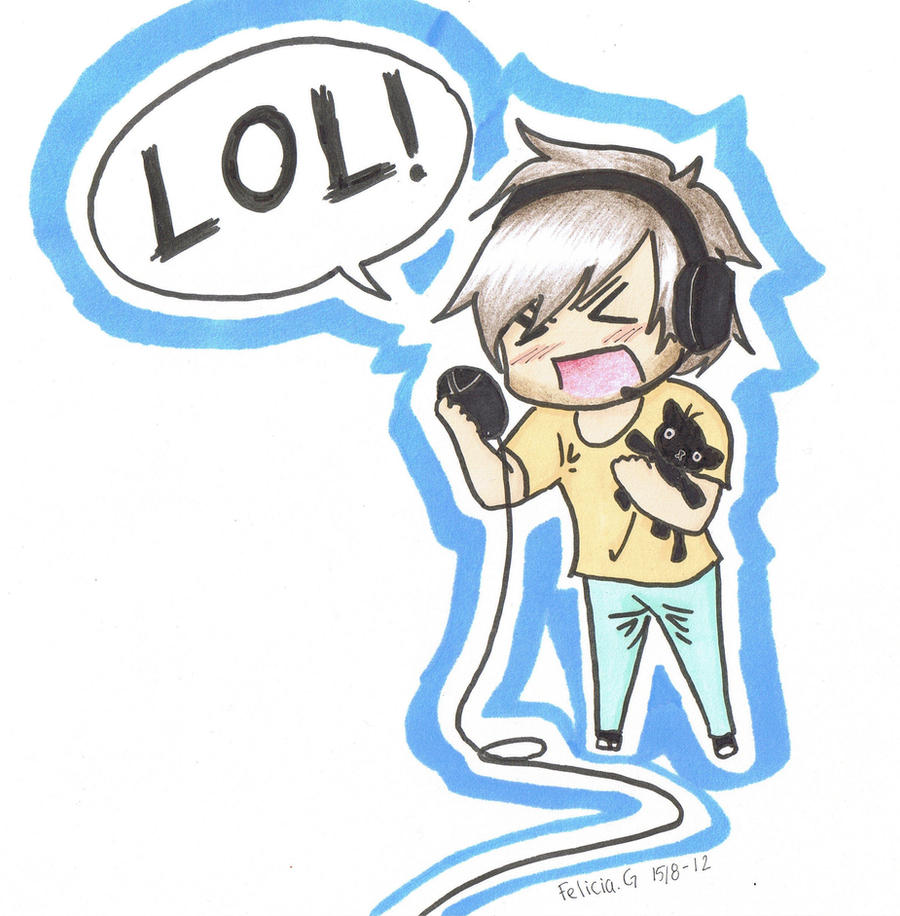 Pewdiepie LOL! by GorillazFiggo