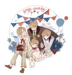 242th Birthday of Hero by Jilru2307