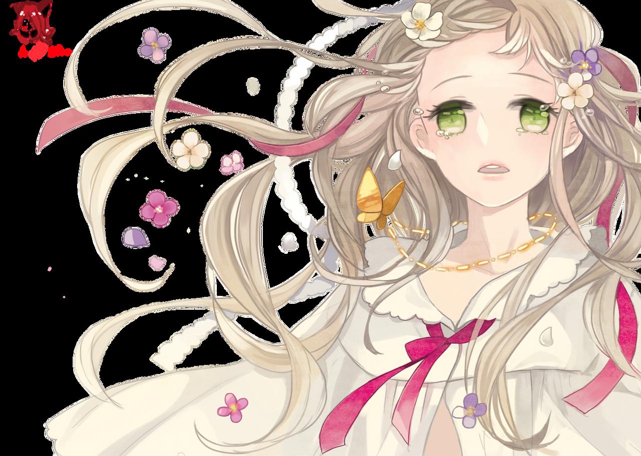Sad Anime Girl Render By AnimeLover20oo On DeviantArt