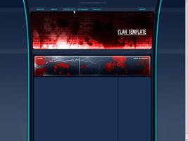 gaming template website by dannn