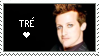 Tre Cool stamp by KazultheDragon