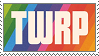 TWRP Stamp - Ladyworld by KazultheDragon