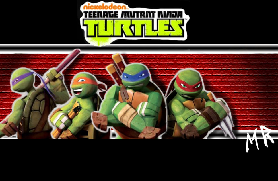 NEW TMNT 2012 Custom Group by ShadowNinja976