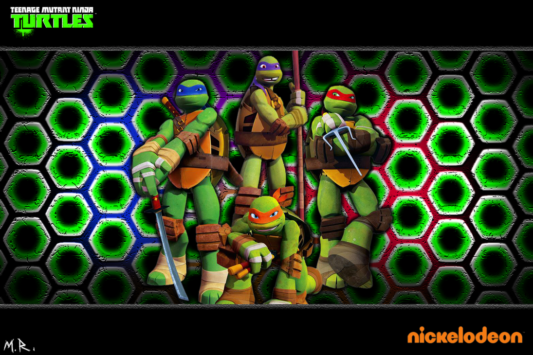 2012 Nickelodeon TMNT Wallpaper By ShadowNinja976
