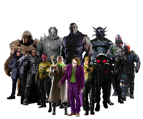 Best DC Villains Characters: by 2006slick on DeviantArt