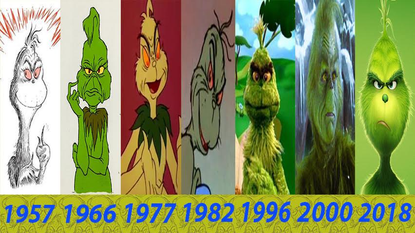 Evolution Of The Grinch By 2006slick On Deviantart