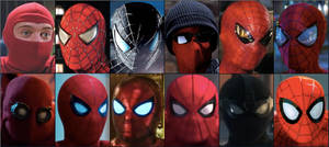Evolution of Movie Spider-man: by 2006slick