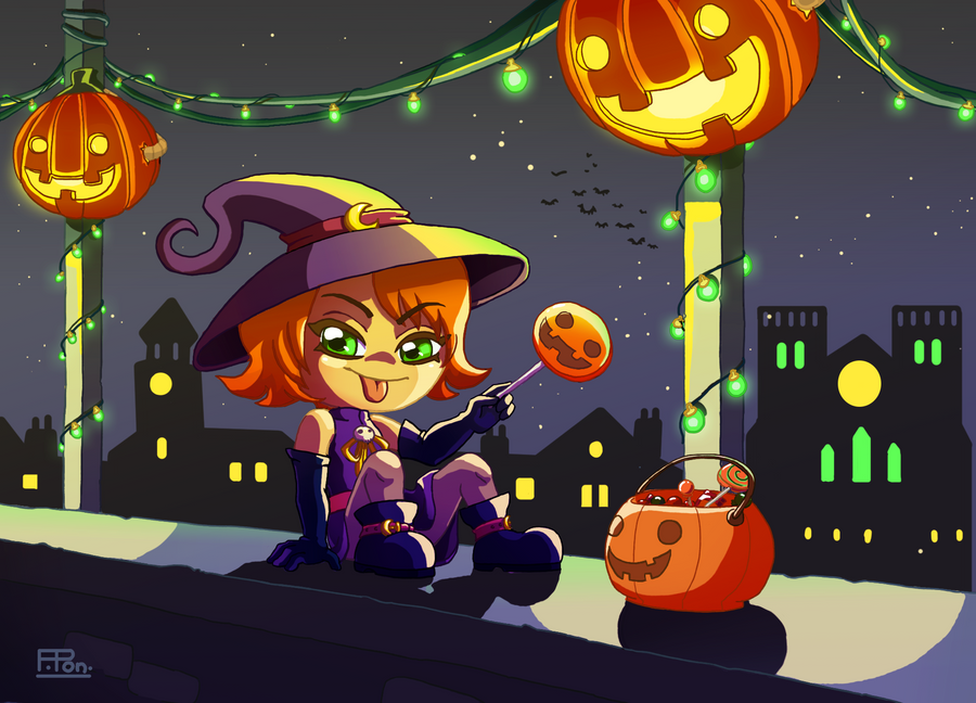 CX Neri Halloween by Furette-Pon