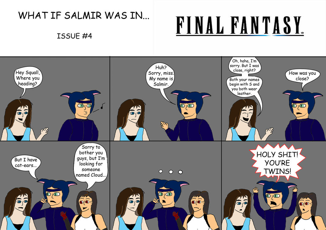 W.I.S.W.I : Final Fantasy by SalmirAeon