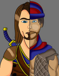 Then and Now- Prince of Persia by SalmirAeon