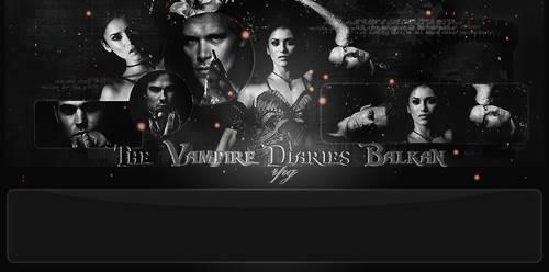 The Vampire Diaries layout