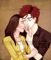 Bella and Edward - final by KSNC
