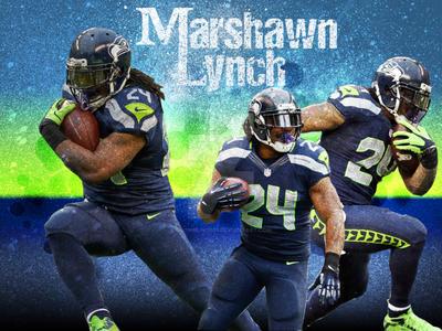 Marshawn Lynch Wallpaper By Snowblind037