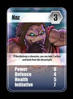 Naz - Ultra Clash 1 by CuRtiS-Hunt