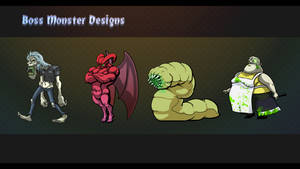 Boss Monster Designs by CuRtiS-Hunt