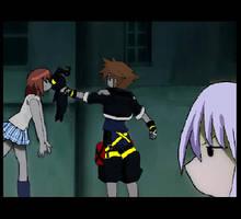 anime kingdom hearts by TodoSai