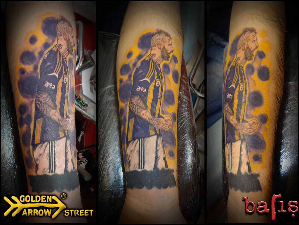 Raul Jose Trindade Meireles tattoo by ayi81 on DeviantArt