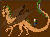 Windlear Dragon Male by ShattenWolf