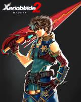Xenoblade Chronicles 2 by orokana-otani
