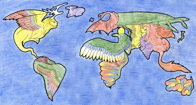 Earth: Here Be Dragons