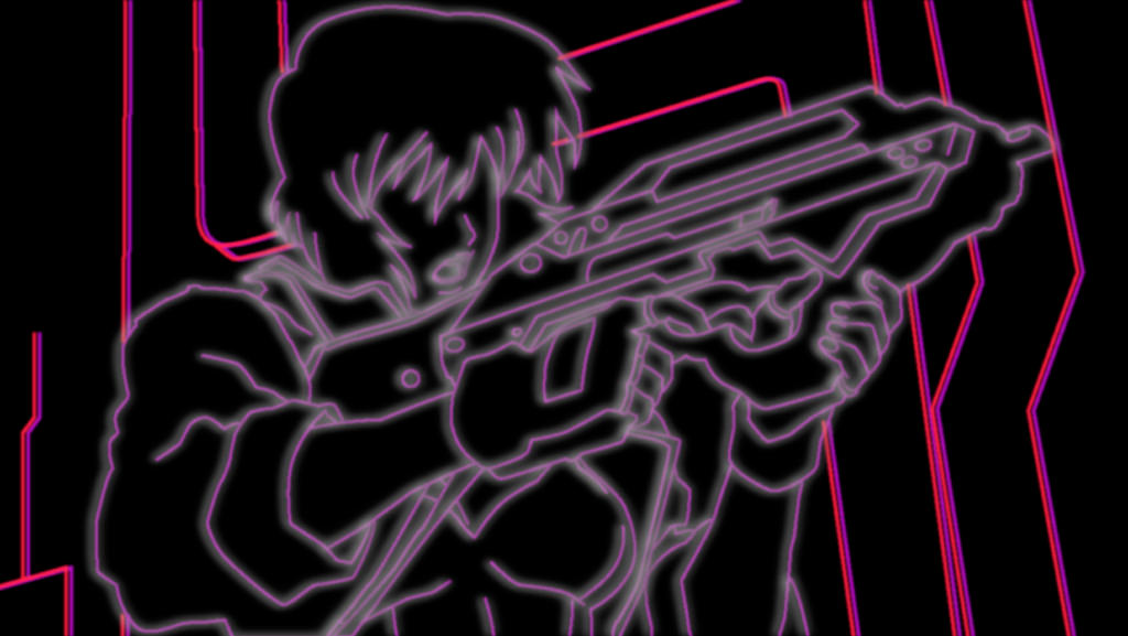 Ghost In The Shell Neon By Helloimkiki On Deviantart