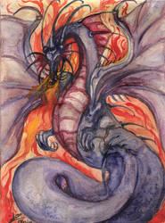 dragon by Gilthonniel