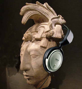Sr. Pakal Headphones by tarma666