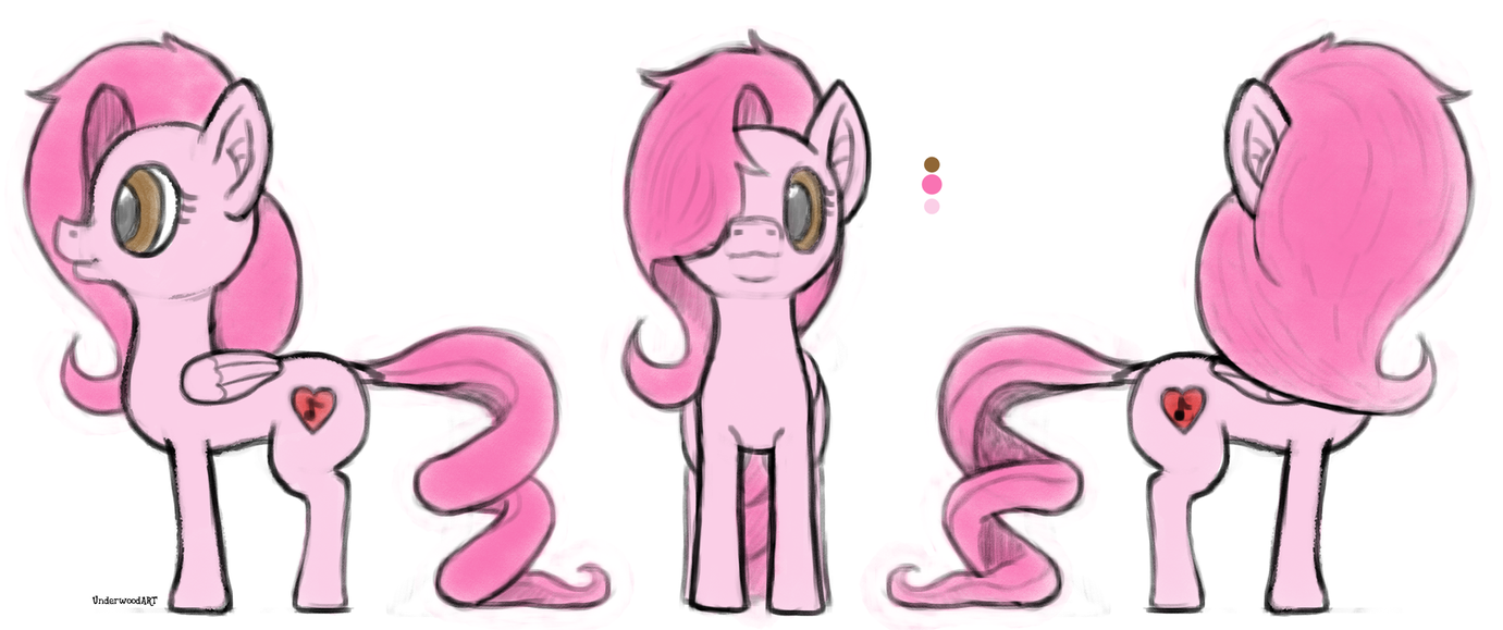 Pony Design for Aimiheart by UnderwoodART