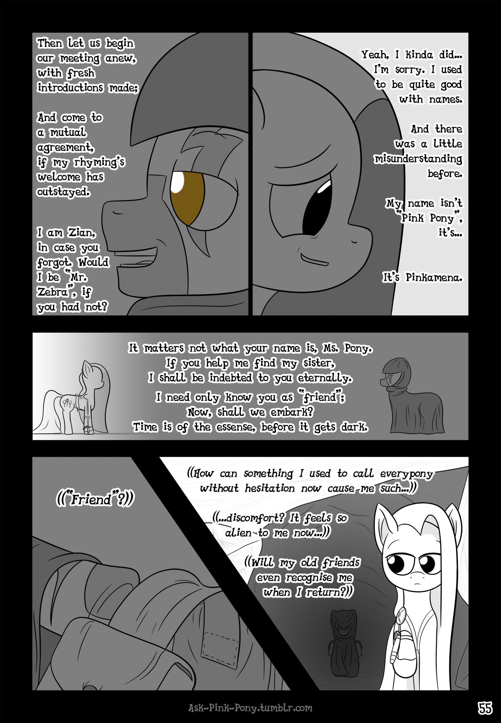 Ask-Pink-Pony #55 by UnderwoodART