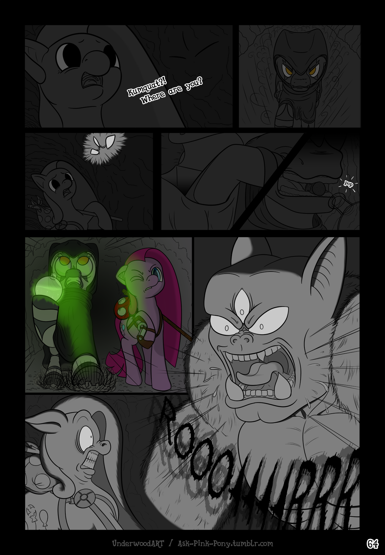 Ask-Pink-Pony #64 by UnderwoodART