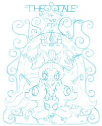 The Tale of Two Sisters Poster [WIP] by UnderwoodART