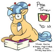 Page Turner OC