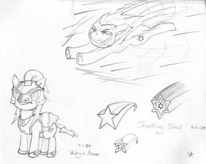 Shooting Star Sketches