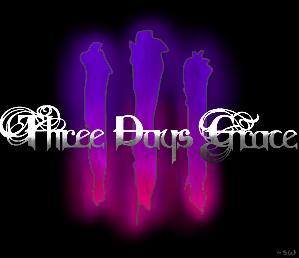Three days grace logo made with sai by sierra - Three days grace wallpaper ...