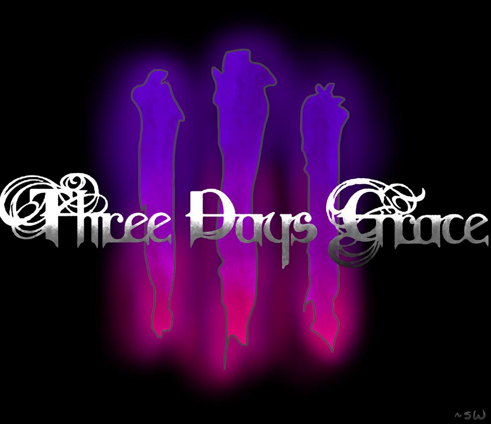 Three days grace logo made with sai by sierra - Three days grace wallpaper ...