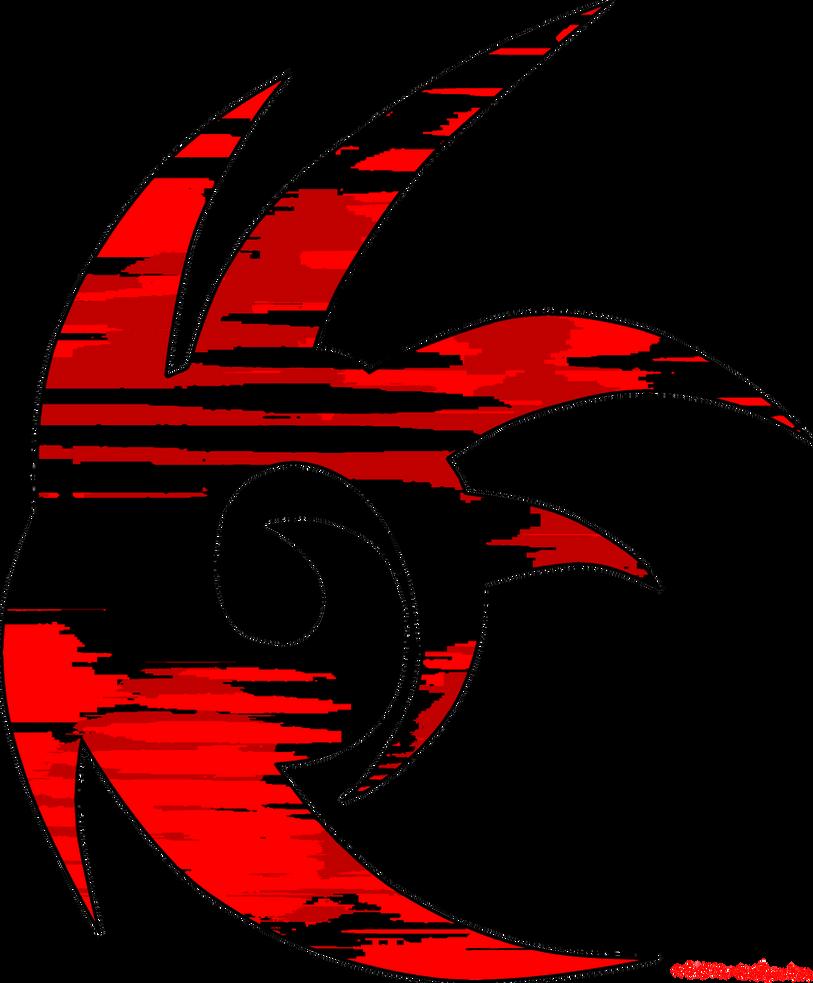 Shadow The Hedgehog Logo (TRANSPARENT) by sierra-windguardian