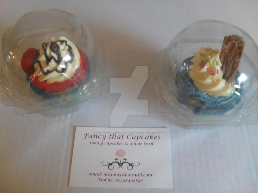 UK ONLY - Ordering Cupcakes by FancyThatCupcakes