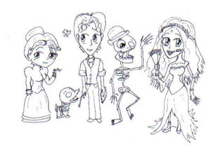 CB Chibis by RanbowAquila by CorpseBrideFans