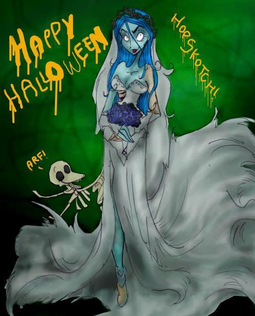Happy Halloween by CorpseBrideFans
